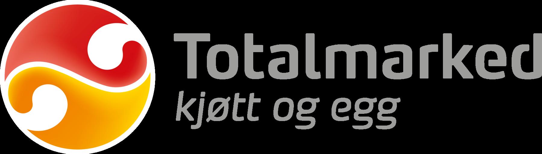 Logo Totalmarked kjøtt og egg